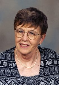 Miller, Aileen Betty obit photo