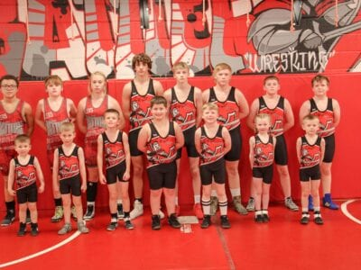 Group of Young Battlers heading to State Wrestling